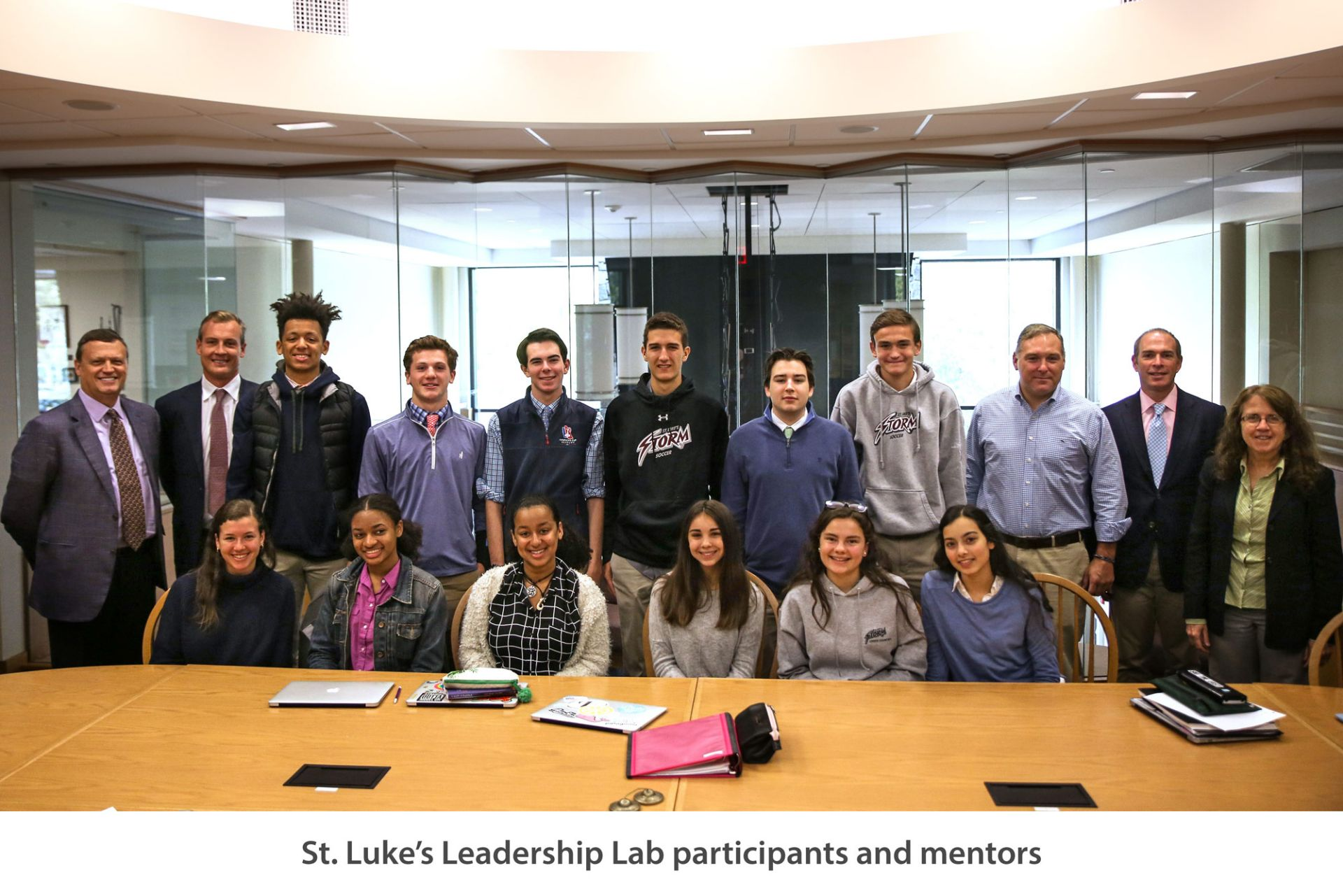 St. Luke's Center for Leadership launches the Leadership Lab: The Power of Brand, a week-long mentorship between successful business leaders and student interested in entrepreneurship.
