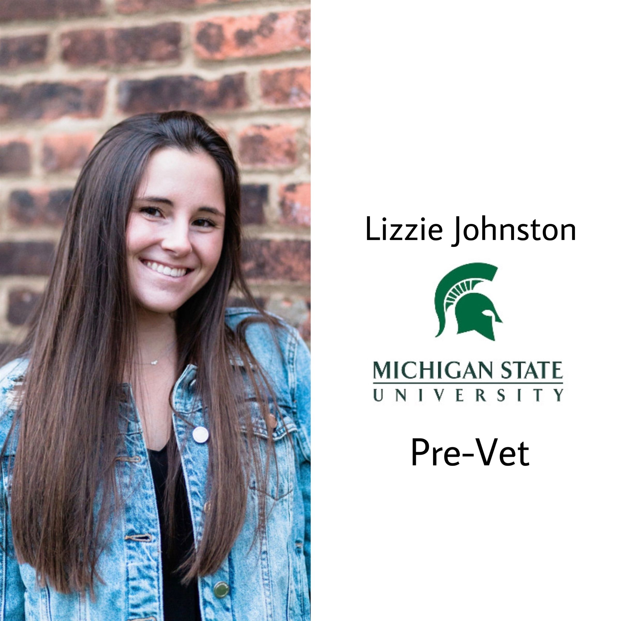 Lizzie is off to Michigan State University!! She will be in the pre-vet program as well as continuing her rowing career! Congrats Liz! Extremely proud :)