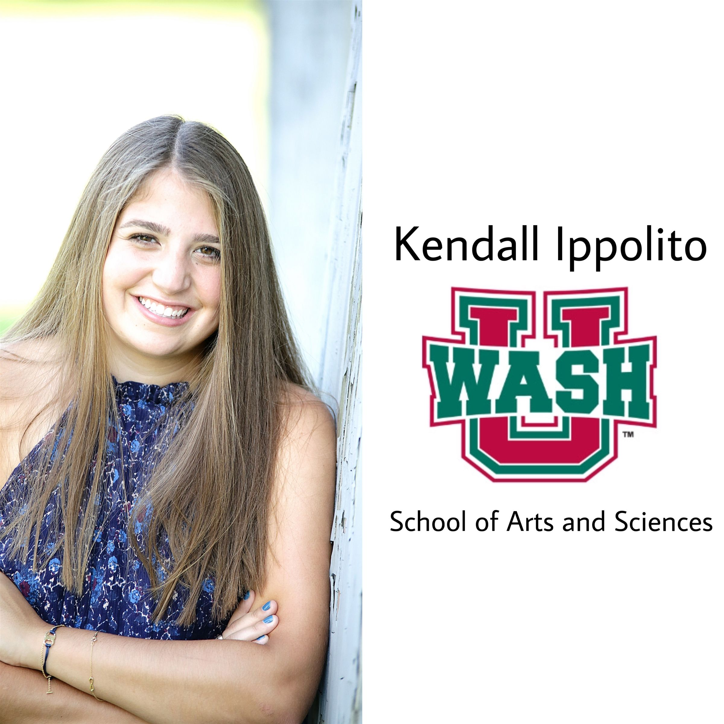 Kendall to Washington University!!! So proud! Congratulations and go bears!!