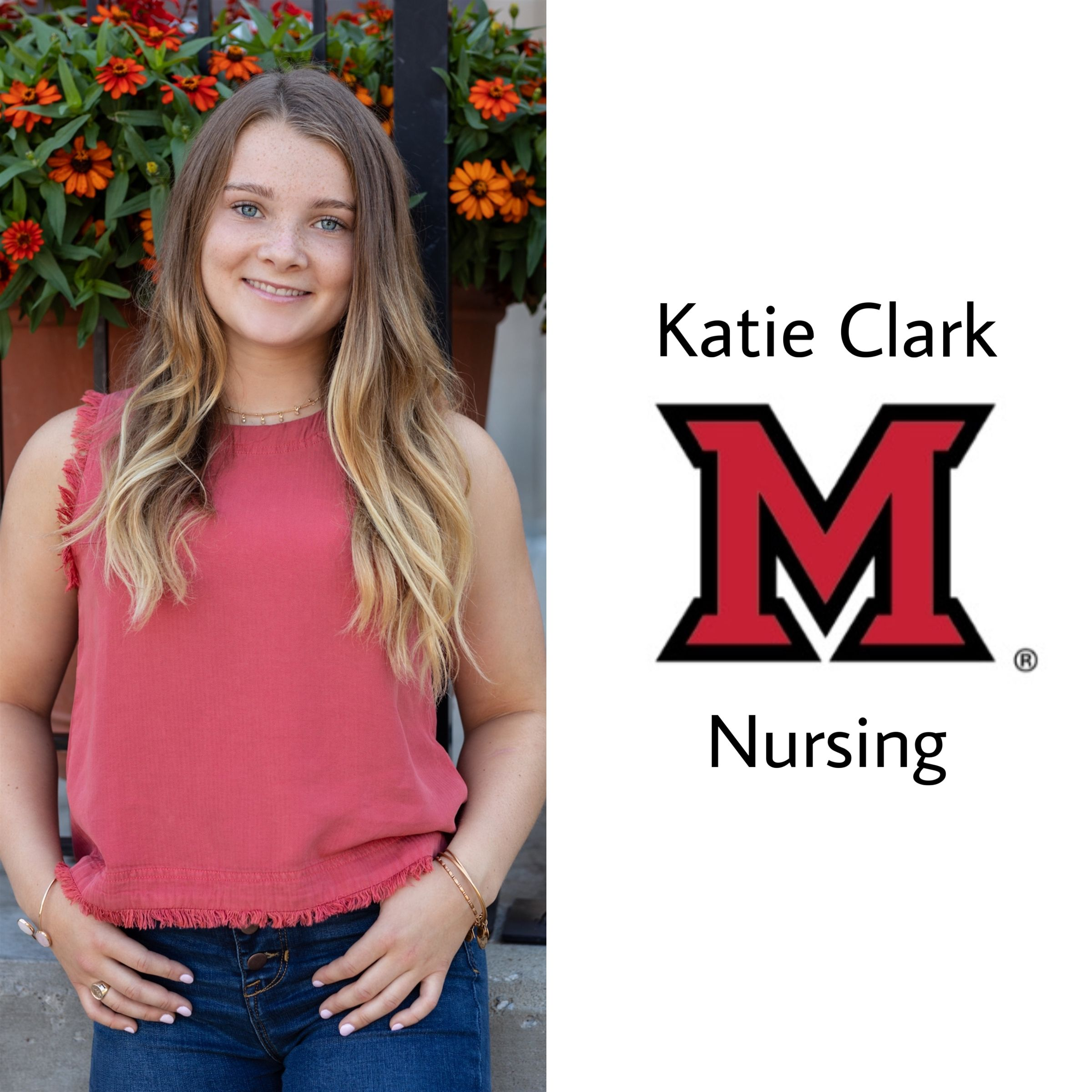 Congrats Katie!! She will be attending Miami of Ohio majoring in nursing next year!