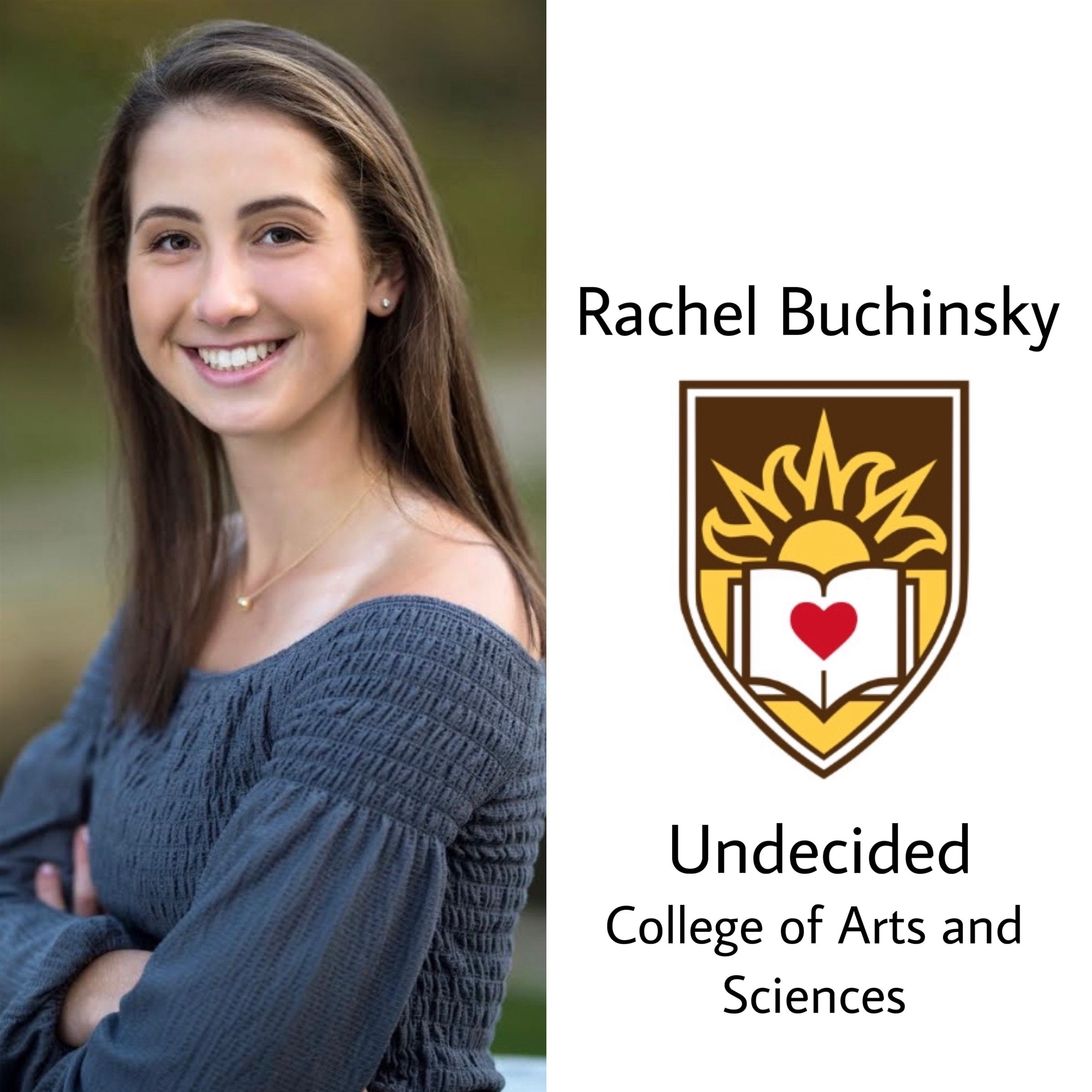 Rachel to Lehigh!!! So so proud of you, can't wait to see what you do! She wants everyone to know even though she is unsure of her major, she will be incorporating her culinary talents in the next 4, as well as continuing her tennis career. Congrats!