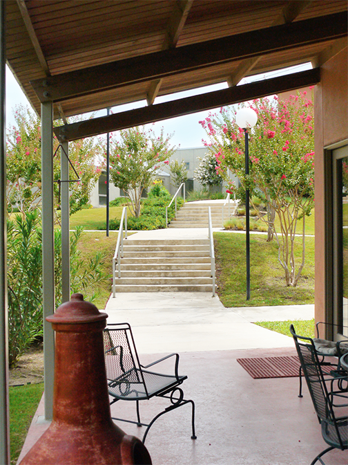 Residence Hall Patio