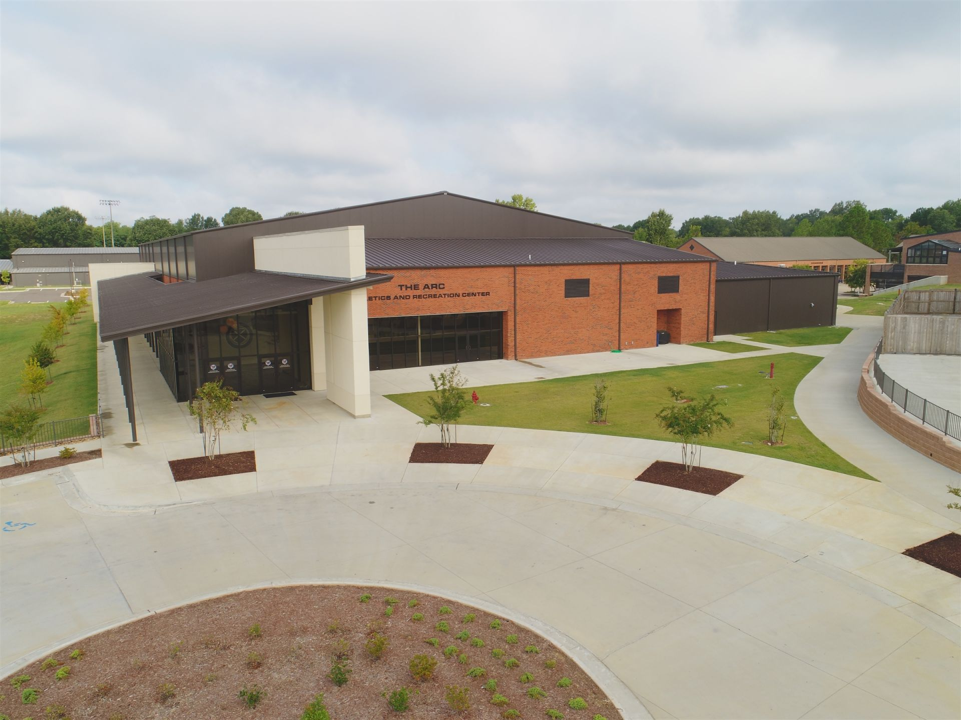 The state-of-the-art, 65,000 square foot Athletics and Recreation Center