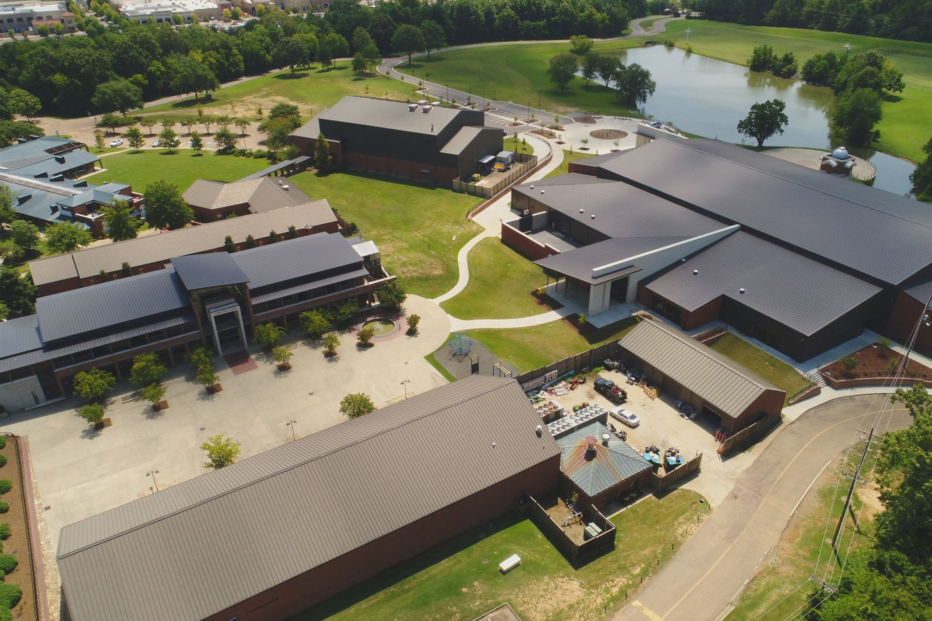 St. Andrew's north campus sits on 72 acres with an abundance of innovative facilities and outdoor spaces.