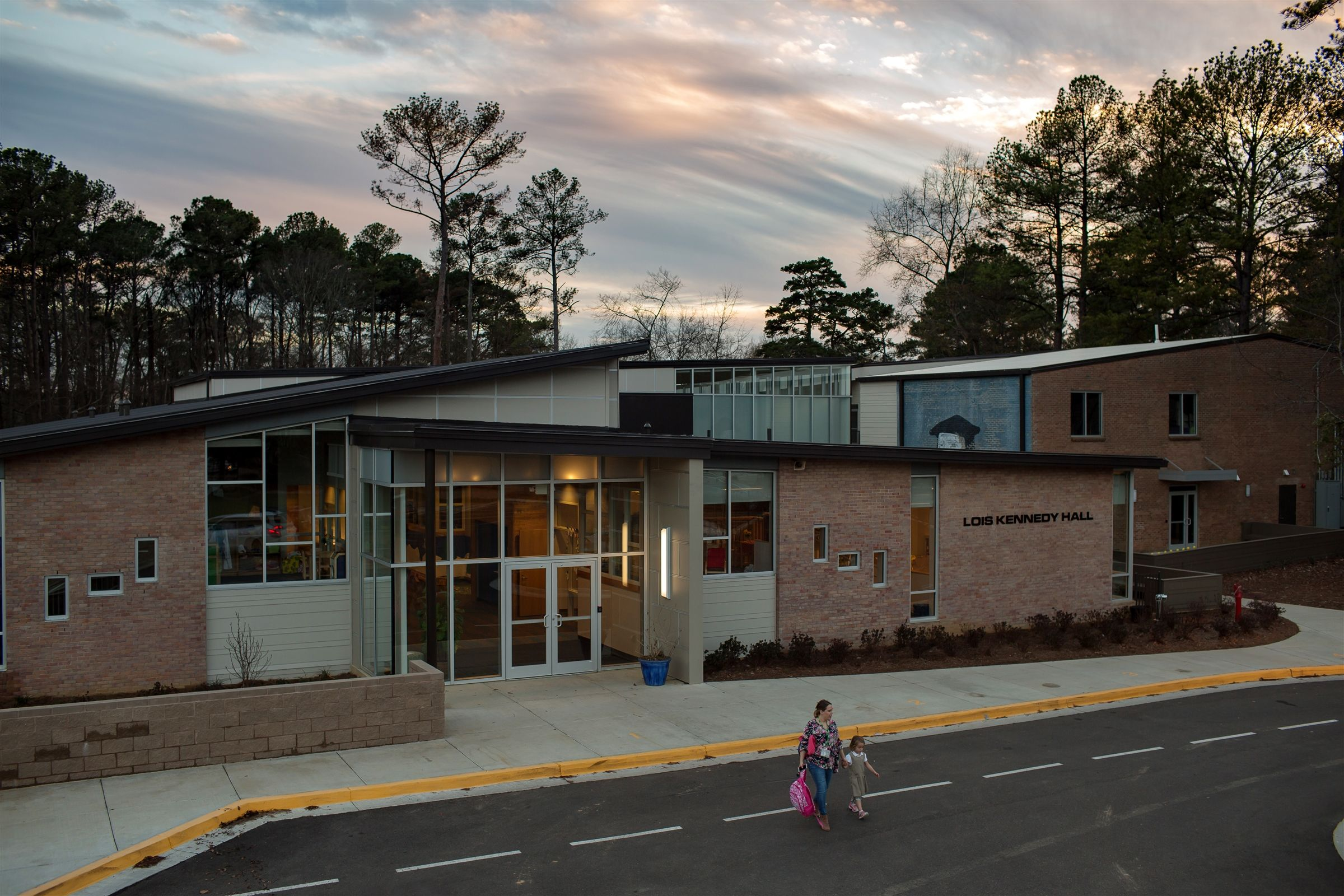 The Early Childhood Center was designed specifically for our youngest learners.