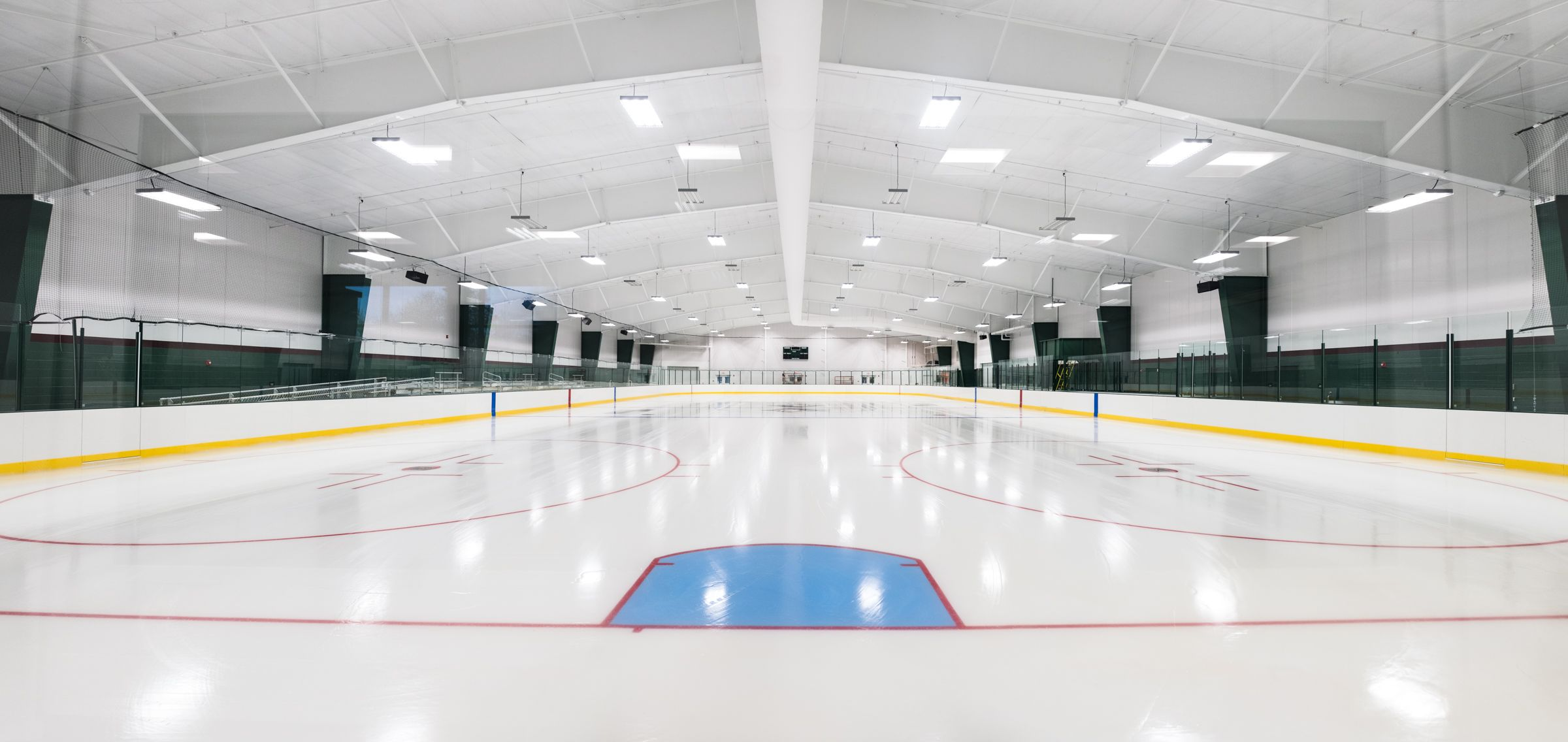 New Hampton School's state-of-the-art ice rink, Jacobson Arena