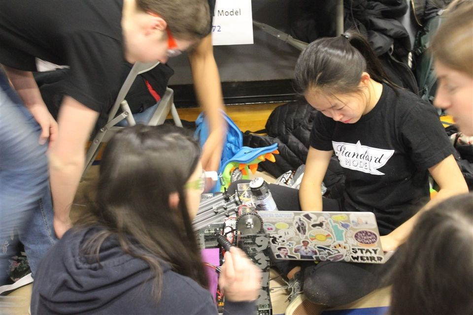 NYC Robotics Superqualifier 2019 - 9 of 34