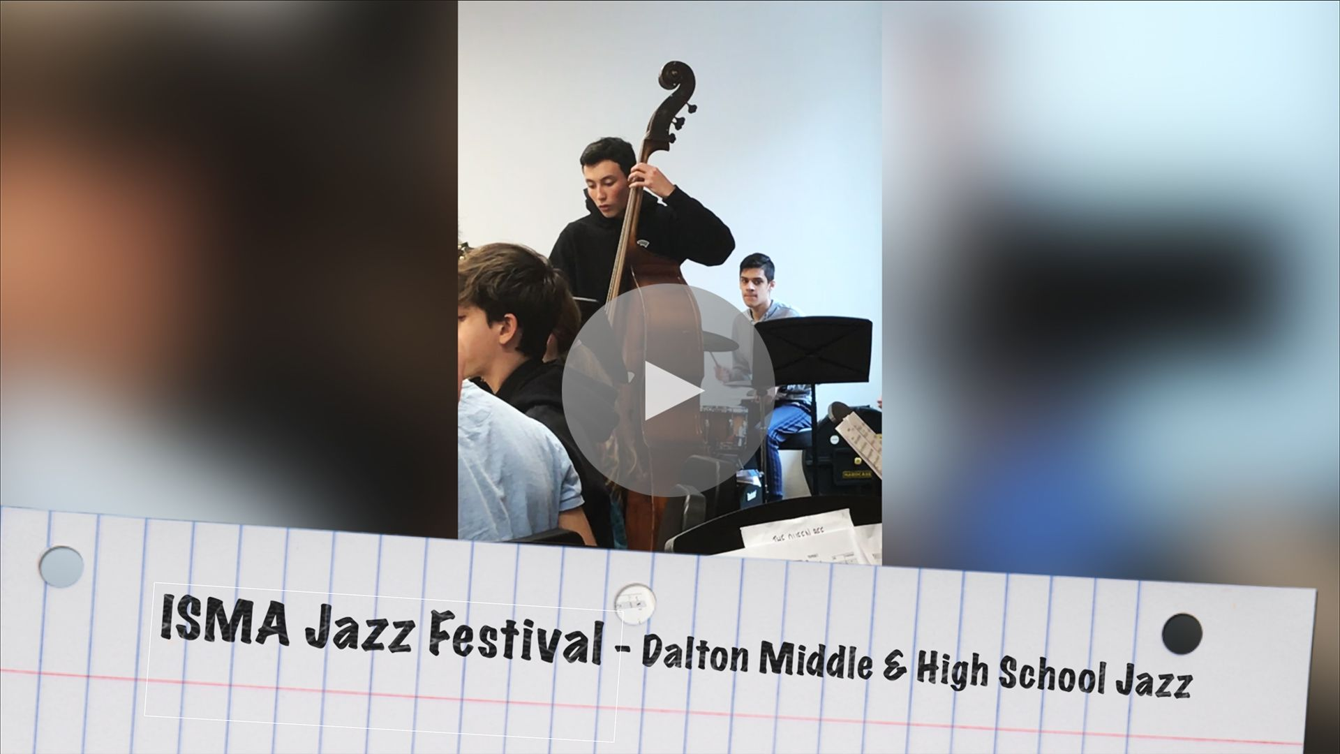Clips provided by Dalton Music teacher David Morgan and parent Ruchi Mehta