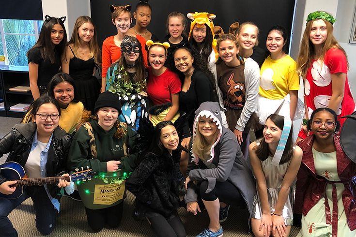 Archer's much-anticipated Halloween Carnival includes costumes created in science class, theatre-driven haunted houses, and fun activities for everyone.