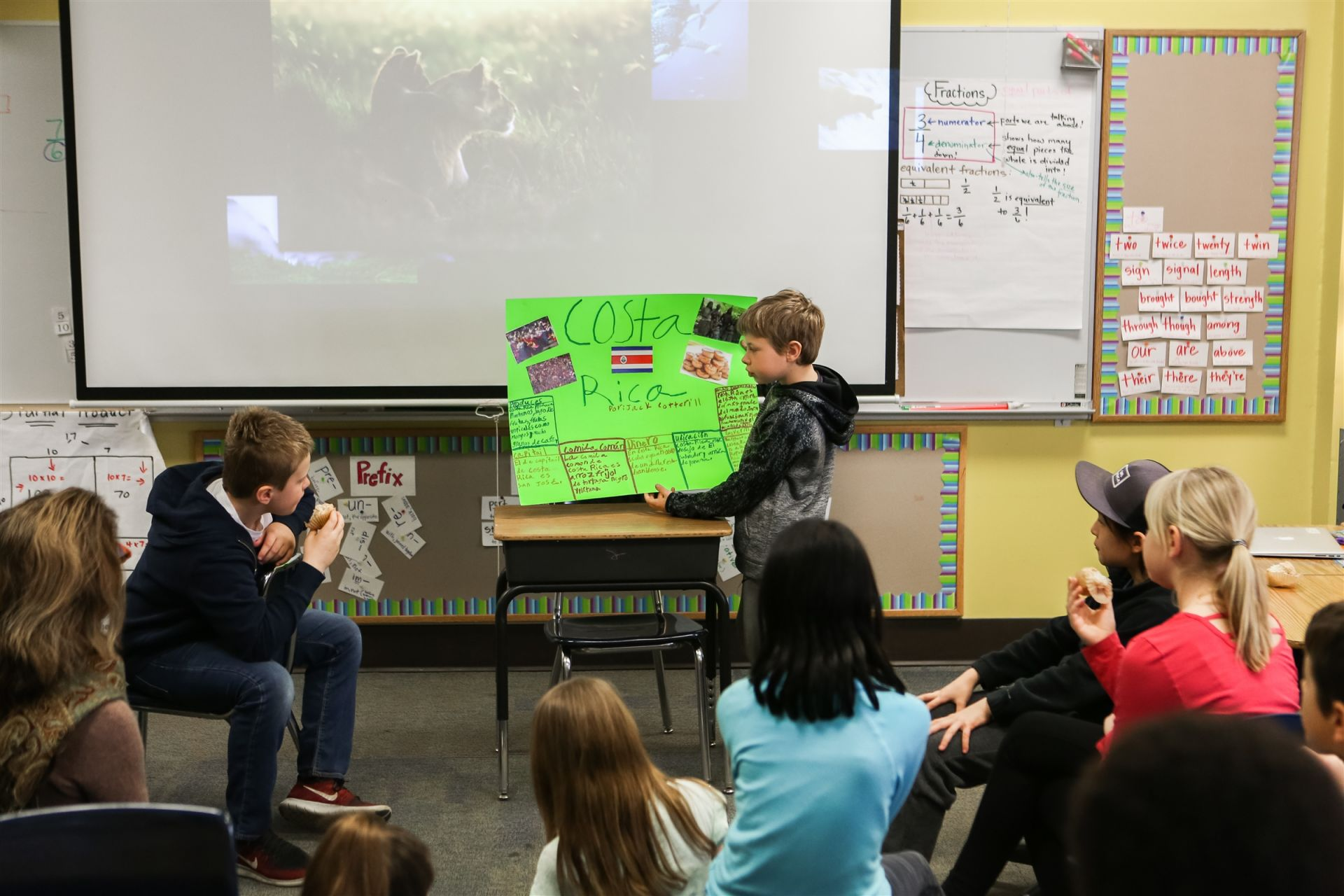 spotlight orchard fourth graders give peers in depth spanish