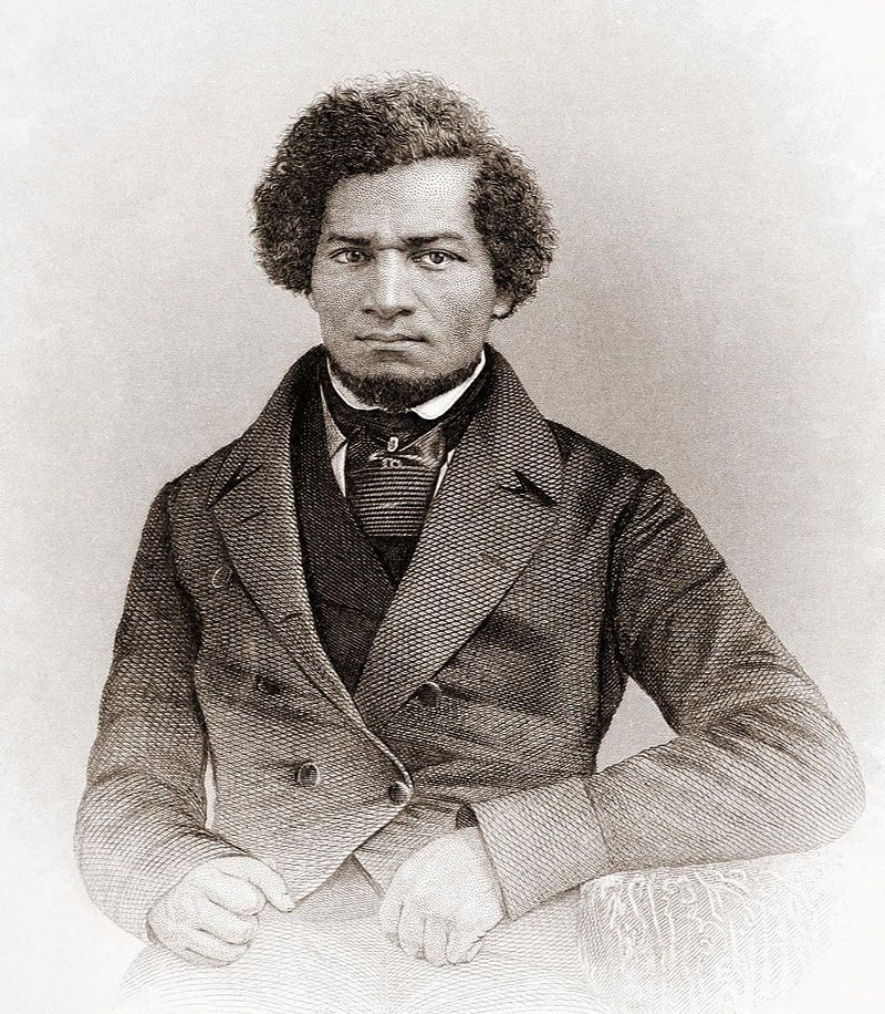 Frederick Douglass was born to an African American mother and an unknown white father in 1818 in Maryland's eastern shore. He was a slave until he escaped to Massachusetts on September 3, 1838. He used his voice and intellect to push for equality and end slavery.   As an important leader in the Abolitionist movement, he believed that no one else should have the experience he did as a slave and all people should be free. Douglass believed that the U.S. Constitution could aid in the fight for emancipation.   His hard work and dedication throughout the years made a significant impact on the fight to end slavery.