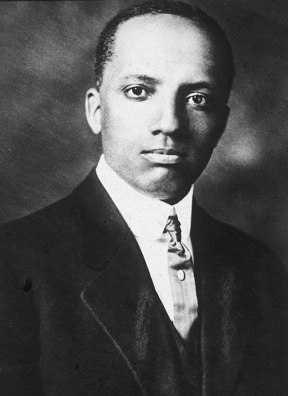 "Dr. Carter G. Woodson is considered the father of Black History Month. Woodson was born in New Canton, Virginia in 1875. He was the son of former slaves, neither of whom could read or write, and he had seven brothers and sisters. Though he had to work as a sharecropper, garbage truck driver, and coal miner during his youth, he managed to graduate from high school in less than two years. He attended Berea College, University of Chicago, and Harvard University, where he received a Ph.D. in history. He was the second African American person to graduate from Harvard with a doctorate. In 1915, Woodson founded the Association for the Study of Negro Life and History to preserve the history of African Americans in this country. Woodson wrote over twenty historical books, most notably ""Mis-Education of the Negro,"" and founded the Journal of Negro History, one of the nation's oldest historical journals. In 1950, Woodson died suddenly of a heart attack.    Woodson is remembered for his vision for a designated Black History Month. He believed that all Americans should celebrate and know the history of African Americans, not just African Americans themselves. He selected the month of February because it coincided with the birthdays of Abraham Lincoln and Frederick Douglass. Woodson dreamed of a time when Black History Month would be unnecessary, when American history would include and celebrate the history of all people in its standard narrative. Woodson's work continues to be an inspiration today; in 2016, President Barack Obama made his last proclamation in honor of Woodson."