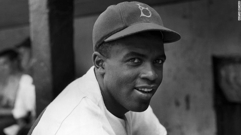 Jack Roosevelt Robinson (January 31, 1919 – October 24, 1972) was an American professional baseball player who became the first African American to play in Major League Baseball (MLB) in the modern era. Robinson broke the baseball color line when the Brooklyn Dodgers started him at first base on April 15, 1947. When the Dodgers signed Robinson, they heralded the end of racial segregation in professional baseball that had relegated black players to the Negro leagues since the 1880s. Robinson was inducted into the Baseball Hall of Fame in 1962.   Robinson