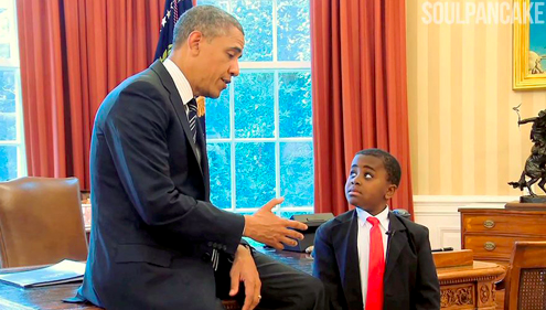 "In 2008, Barack Obama became our 44th president. Obama made history by becoming the first African-American commander-in-chief. In addition to his presidency and contributions while in office, Obama served as an inspiration for many, including Robby Novak aka Kid President. Novak has osteogenesis imperfecta, which makes him susceptible to bone damage. By age 11, Novak had broken over 70 bones. It would be easy for someone in his position to feel self-pity or be easily upset, but that's just not his style. As an advisory, we learned a lot from these two. So, without further ado, here is our Top Six List of Things We Learned from this Dynamic Duo: 1.	The world may be scary at times, but we can ALL play a role in making the world a better place. 2.	The little things matter too. Smile at a stranger. Help a friend in need. 3.	Treat people with kindness. It doesn't matter where they are from, what color their skin is, what religion they may or may not practice...We are all human.   4.	Even when things are hard or aren't perfect, we still need to be on each other's teams. 5.	Representation matters. It's important to have leaders who are different races, genders, ethnicities, religions, etc. You don't know what you don't know; people have different perspectives and experiences, and it's important for all voices to be heard. 6.	We all need to give the world a reason to dance. So, in the words of Kid President, ""You don't need a cape to be a hero. You just need to care."""