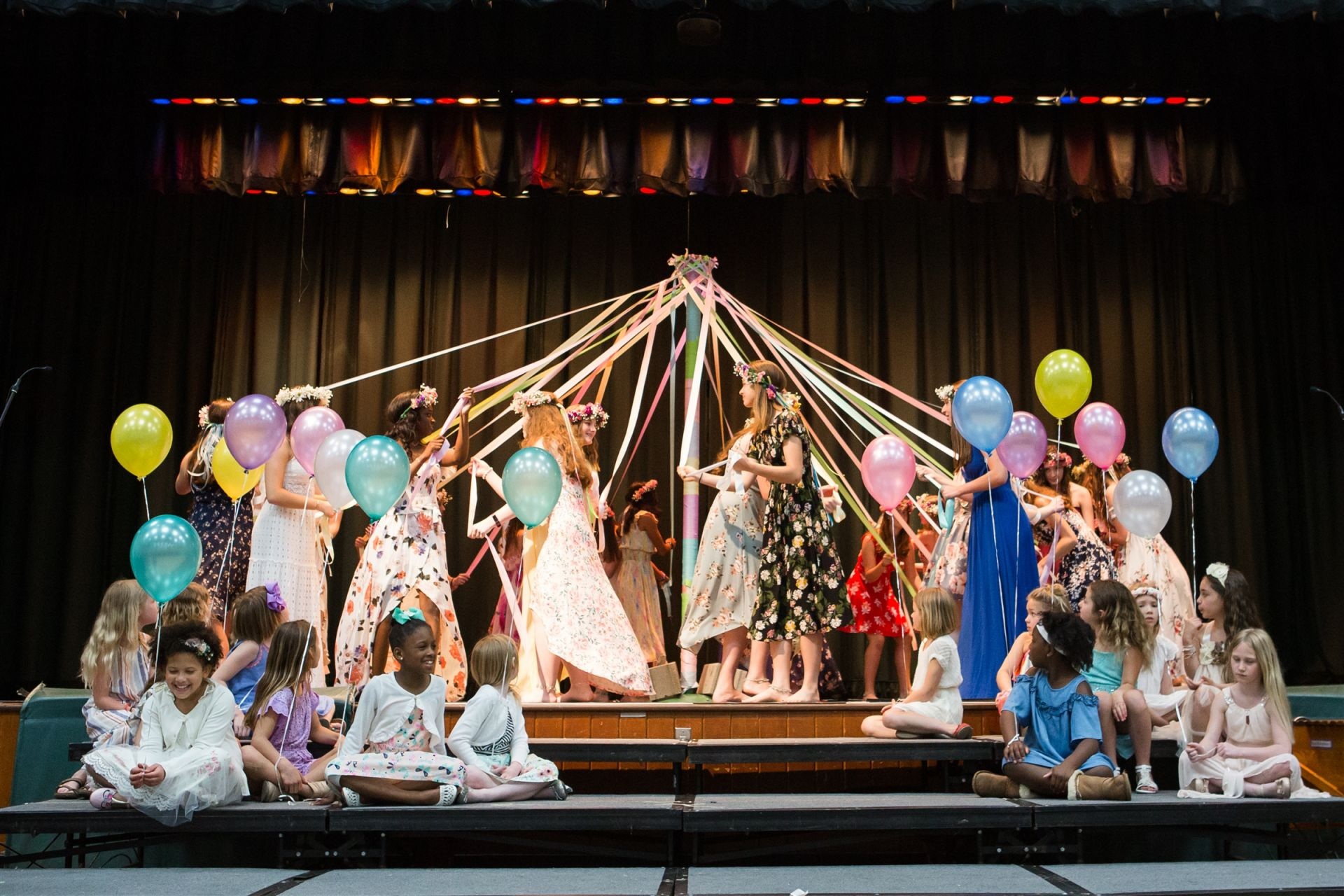 All of our students shined during Orchard's Annual Spring Pageant.