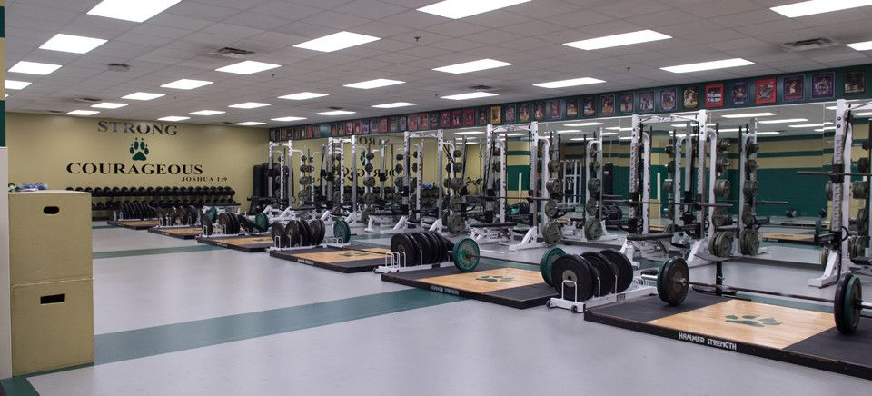 strength weight room