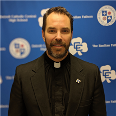 Fr. Patrick Fulton, CSB - the 21st Detroit Catholic Central Principal