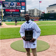 Kevon Davenport '19 - Walt Bazylewicz Award CHSL Male Athlete of the Year