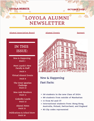 Loyola Newsletter
