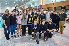 High School Swimming and Diving Team