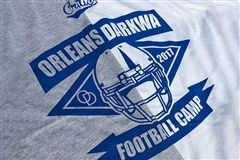 Orleans Darkwa football camp