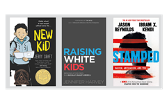 faculty book club new kid raising white kids stamped kendi