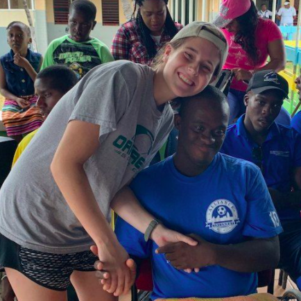 Clare Escobar ('18) on the Mustard Seed Mission Trip