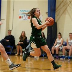 Hannah Byrne ('20) played basketball as a Charger for seven years.