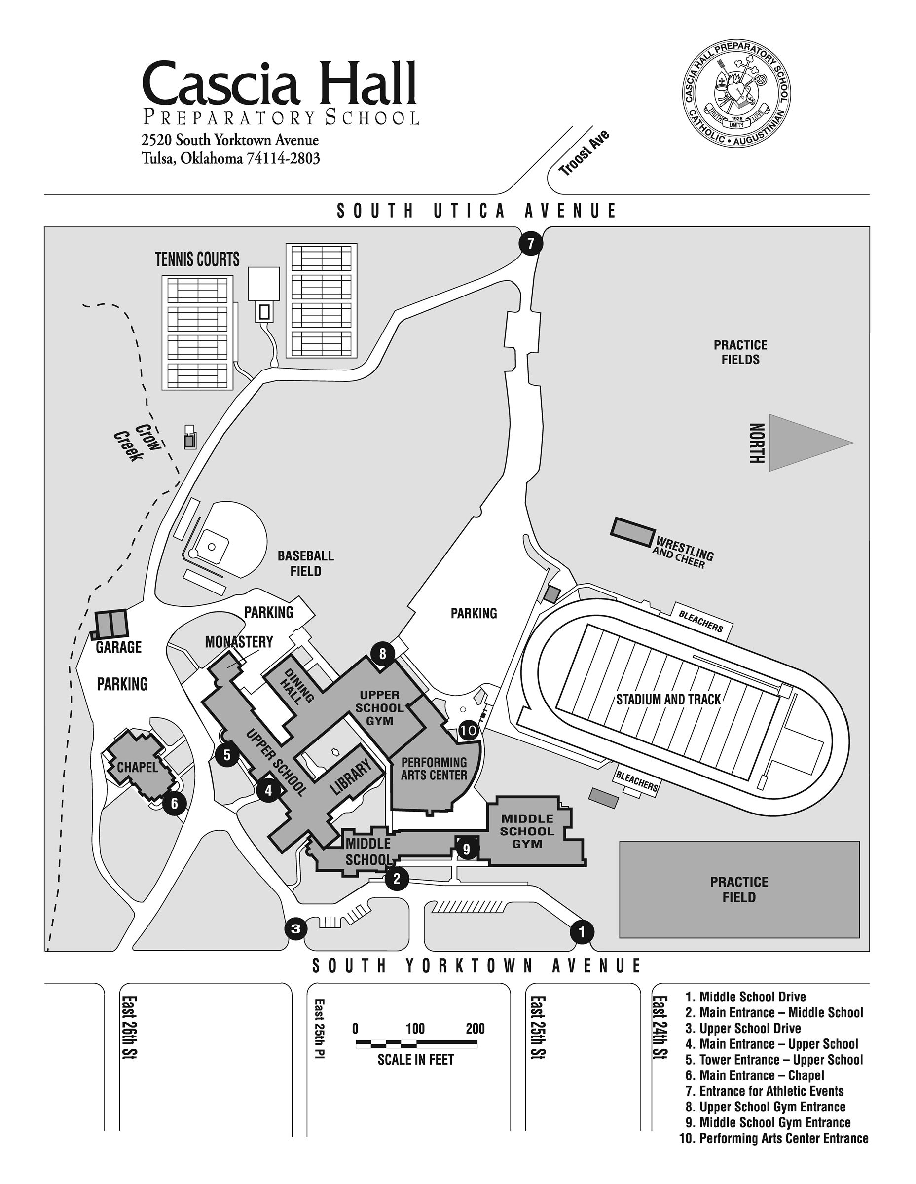 Download Campus Map