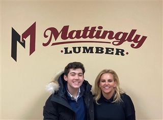 During minimester, Junior Buck Todd was in St. Louis, Missouri interning at Mattingly Lumber and Millwork.  He learned all about business operations, managing employees, customer satisfaction, and following safety procedures