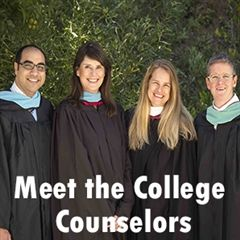 Meet the College Counseling Team