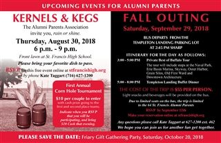 Alumni Parent Events