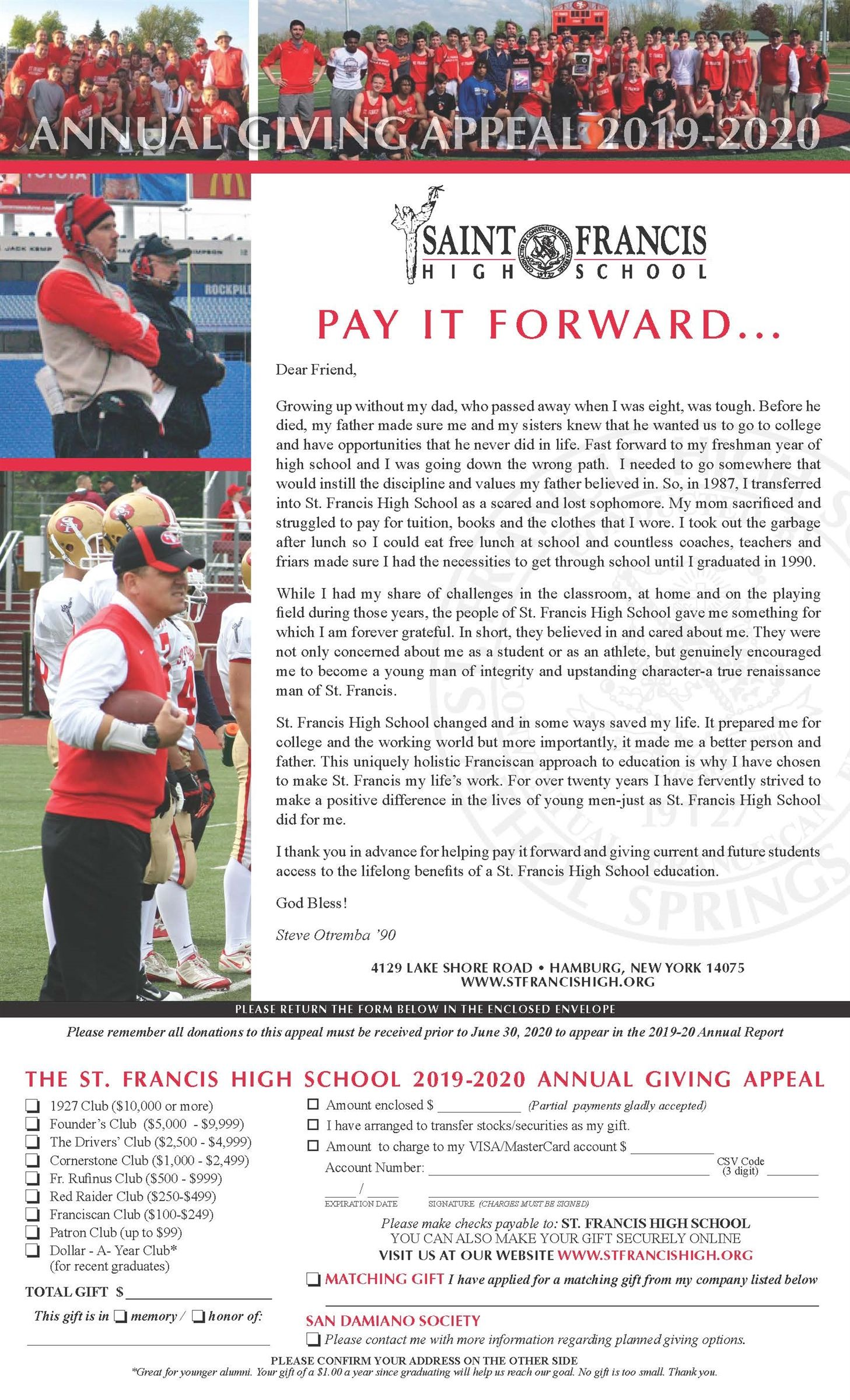 Annual Giving page 1