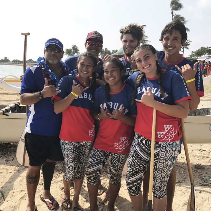 Girls and Mixed Paddling Crews Win State Titles