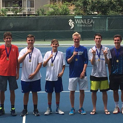 Spartan Tennis Players Win MIL Singles and Doubles