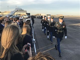 Click2Houston: Students invited to George H.W. Bush's arrival ceremony Wednesday