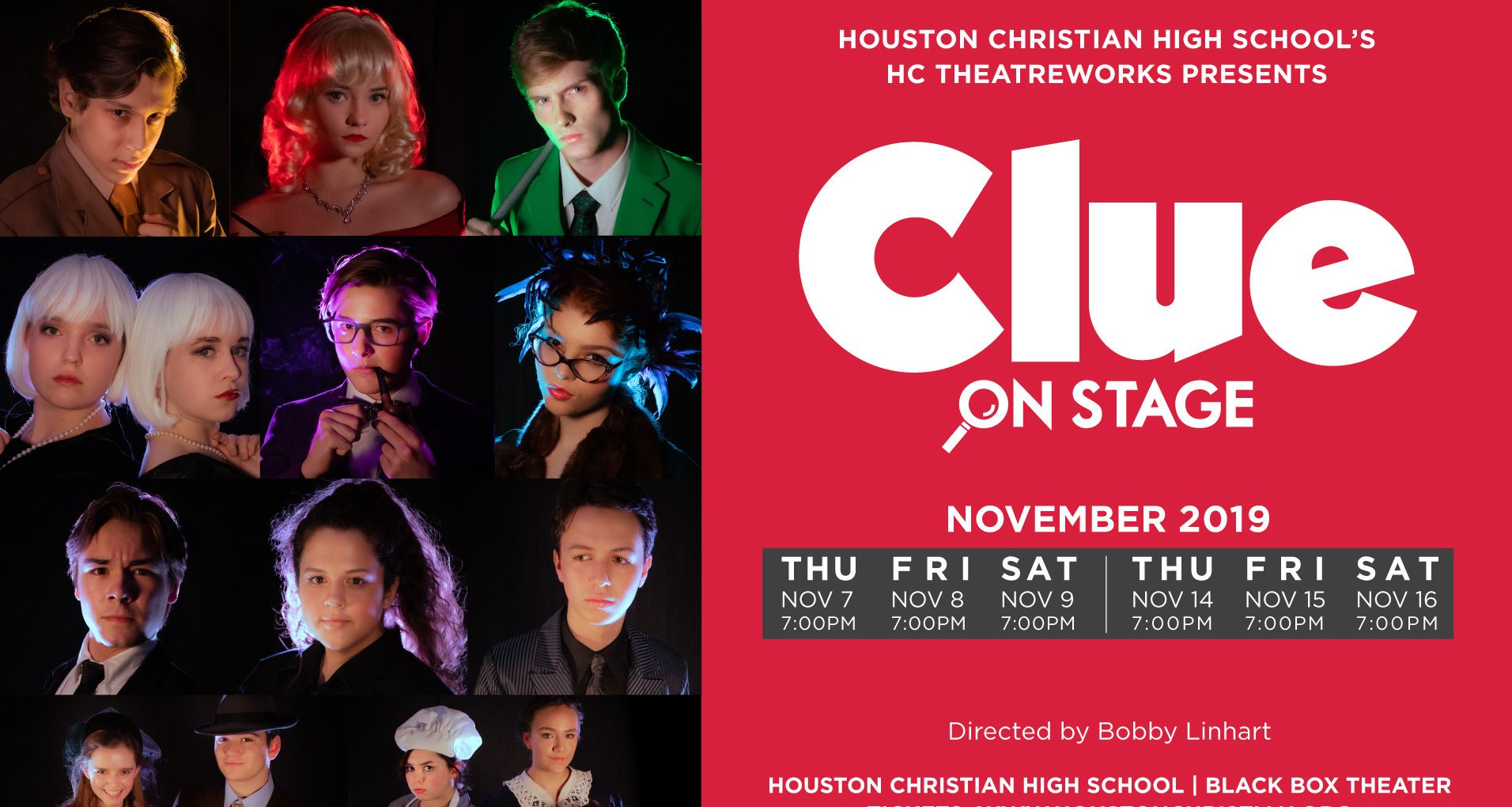 HC Theatre Presents Clue