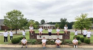 Brookwood School's 2020-2021 Student Government Members, left to right, row 1: Zachary Lauderdale, Katherine Cook, Jack Saussy, Collin Clark. Left to right, row 2: Mary Claire Chapman, Tori Noah, Naya Williams, Cassie Durham, Jackson Clendenin, Eliza Miller, Jessie Wortman, Lizzie Rollins, Abby McCaskill, Ava Cauley, Eise McPherson