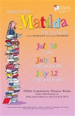 Community Theatre Works: Matilda The Musical | Cancelled Due to COVID-19
