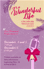 Fall Production: It's A Wonderful Life: A Live Radio Play | December 2020