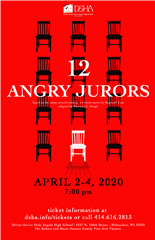 Advanced Acting Production: 12 Angry Jurors | April 2020