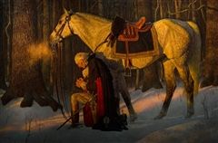 President George Washington's Prayer at Valley Forge