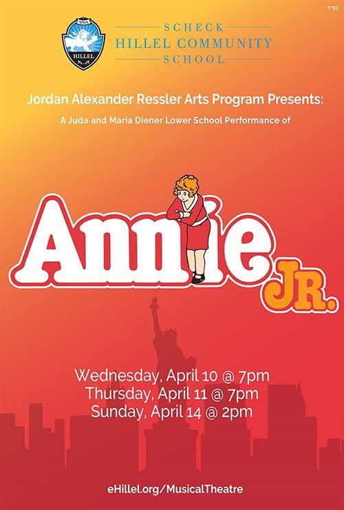 Scheck Hillel presents Annie Jr.