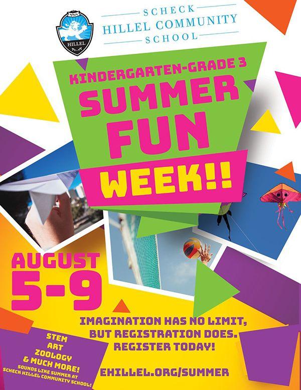 Scheck Hillel's Summer Fun