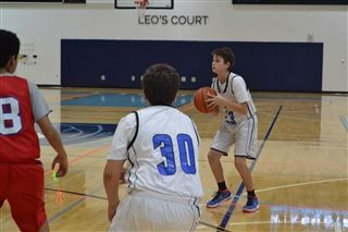 Middle School Boys Varsity Basketball Defeat Renaissance Charter