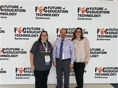 Left to right: Nancy Penchev (I Lab Instructor/Lower School Technology Coordinator), Craig Carpentieri (Chief Academic Officer), Robin Rimon (Lower School Curriculum and Instruction Director).