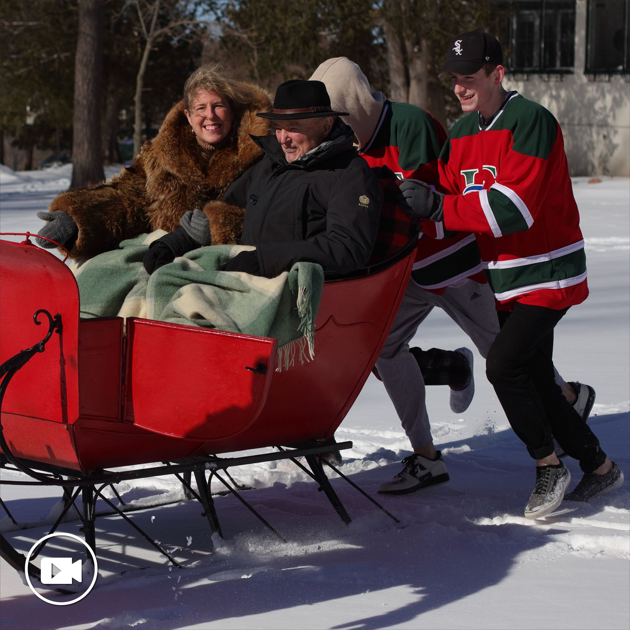 A Sleigh Surprise for the LCS Head of School