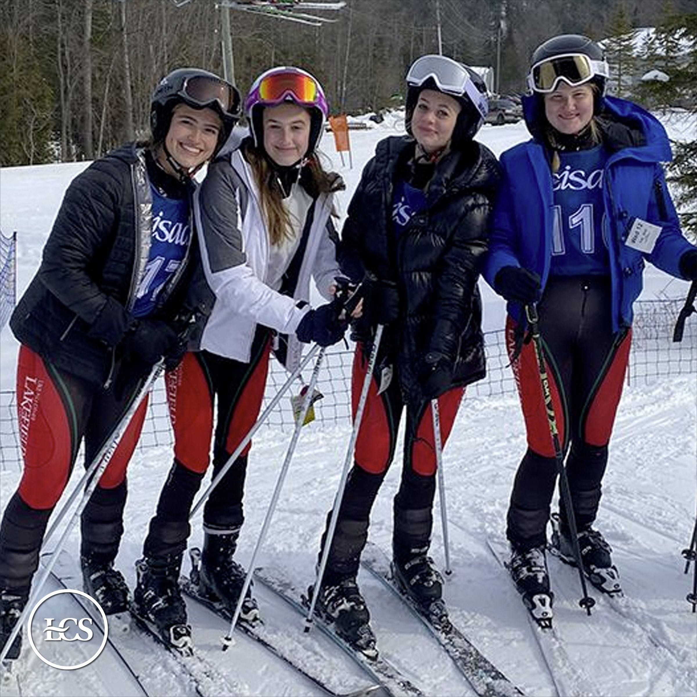 Alpine Ski Team Achieves CISAA gold