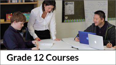 Grade 12 Course Offerings