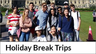 Holiday Break Trips